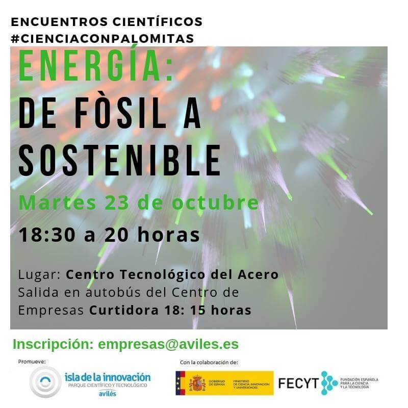 Energía,  De Fósil a Sostenible