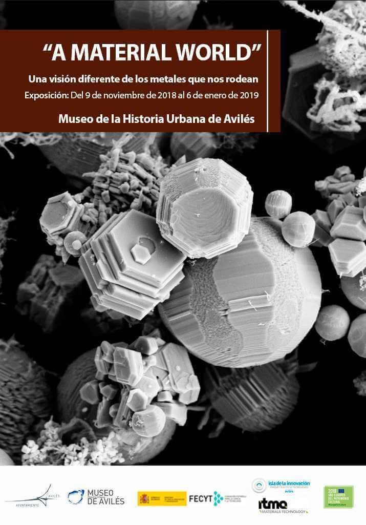 """Exposición """"A Material World"""""""